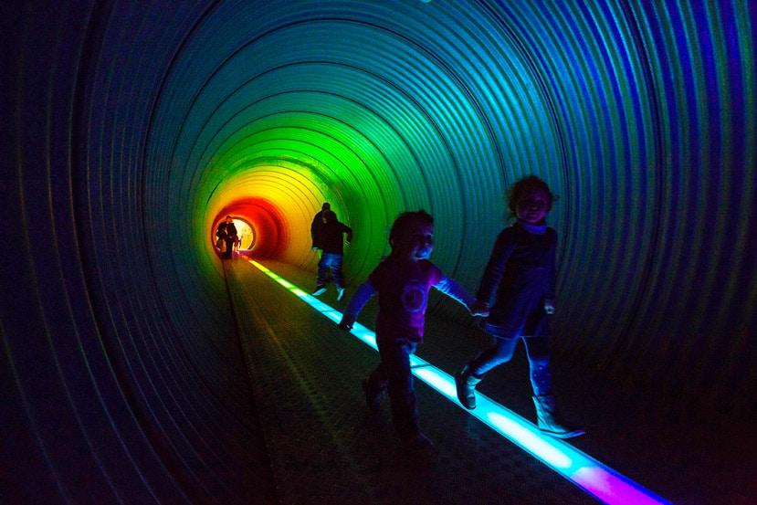 Tunnel arc-en-ciel