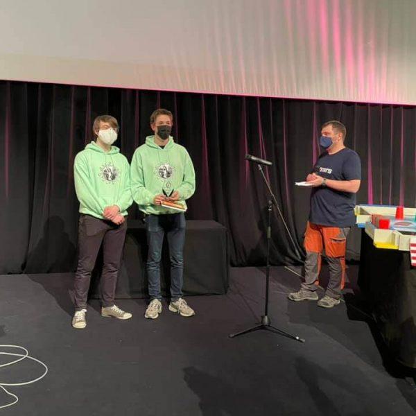 Gagnants du prix de la créativité Robotix's Junior 2020