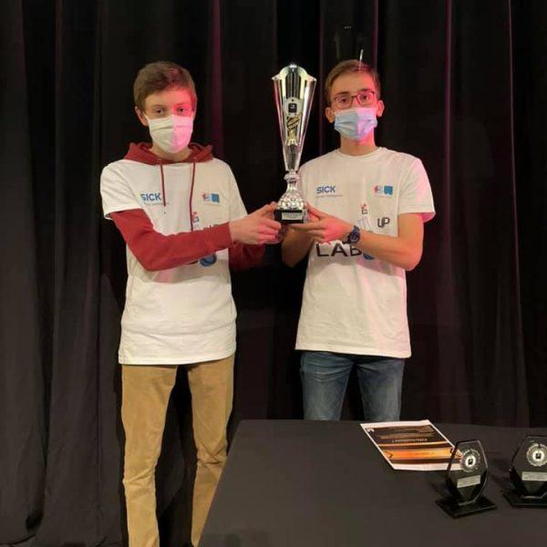 Gagnants de Robotix's junior 2021