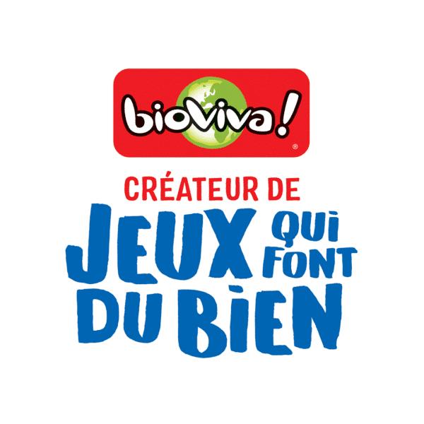 Logo de la marque bioviva : partenaire de l'expo Océans plastifiés
