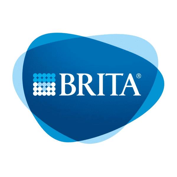 Logo Brita : partenaire de l'expo Océans plastifiés