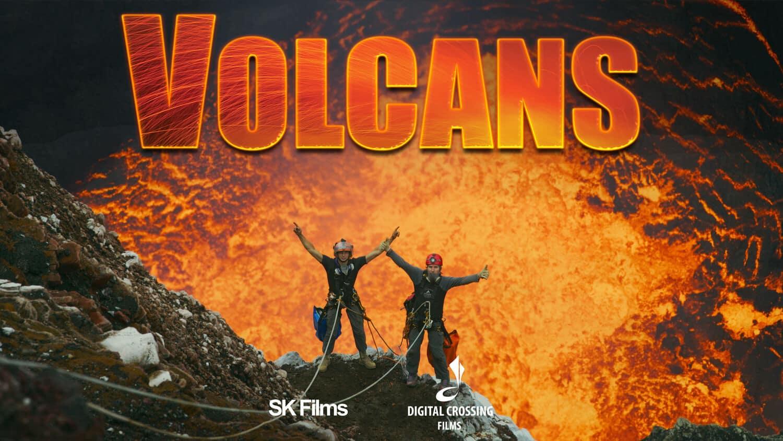 Affiche film Volcans
