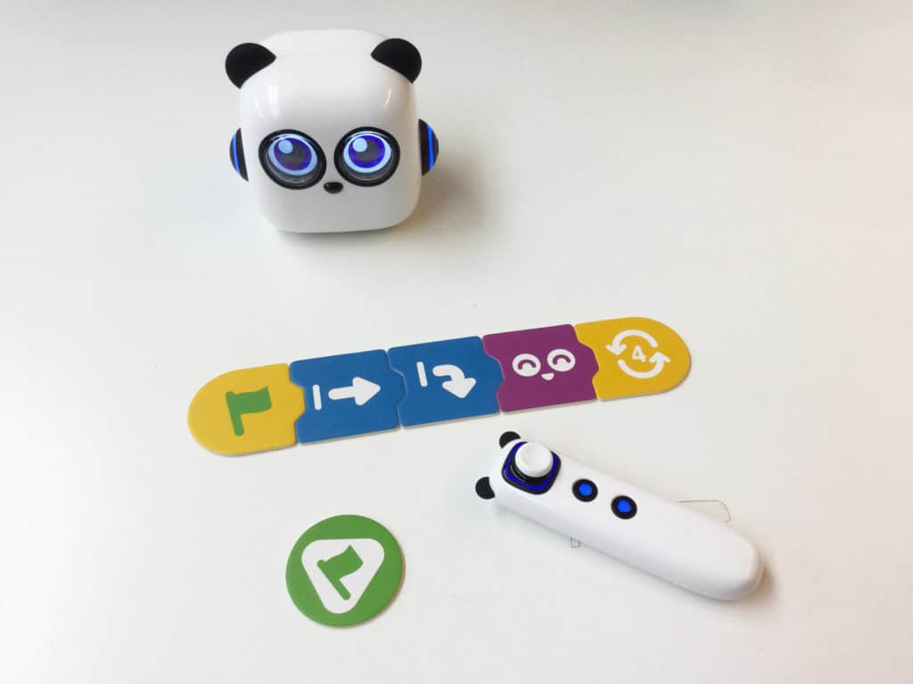 Robot mytini panda pour apprendre à programmer