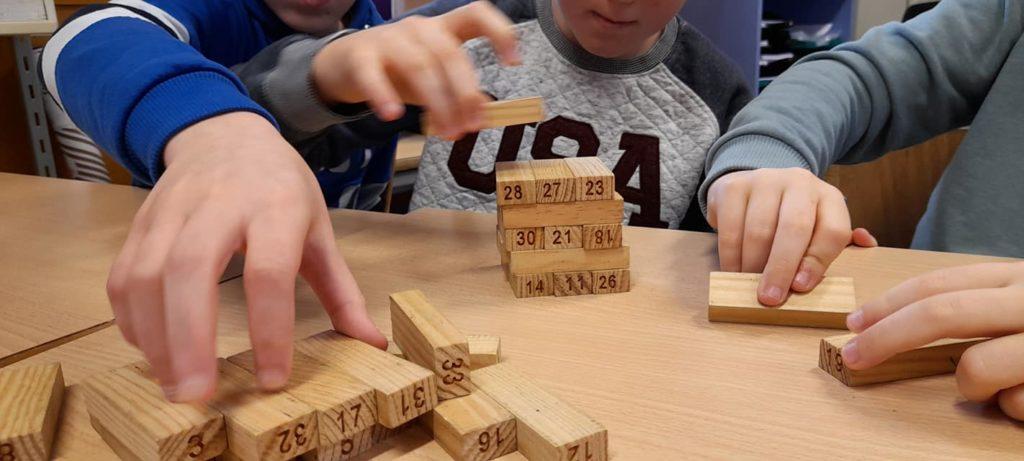 Chamboul-tout jeu mathématique