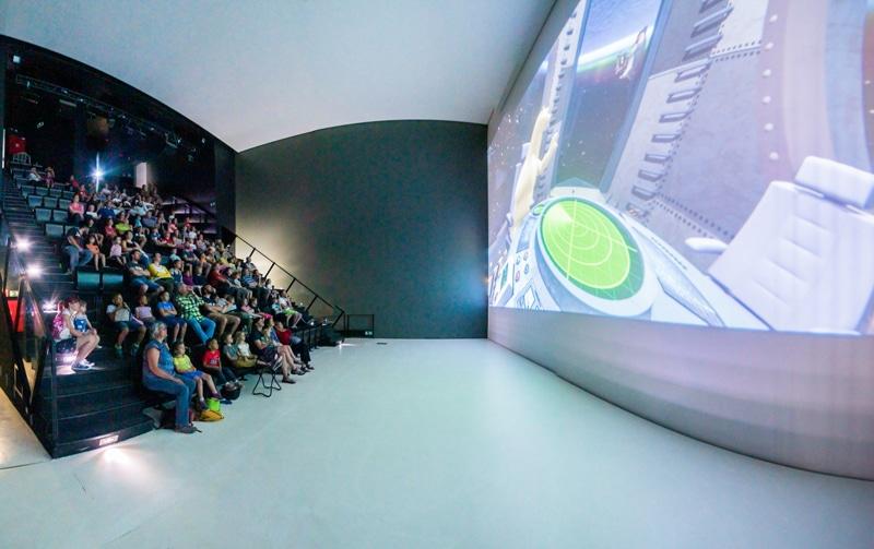 Salle de cinéma - Palais des images